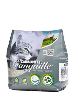 litière minérale Tranquille Carbonite